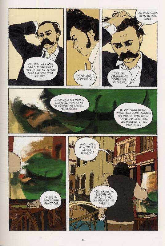 Nietzsche, bd chez Le Lombard de Onfray, Le Roy