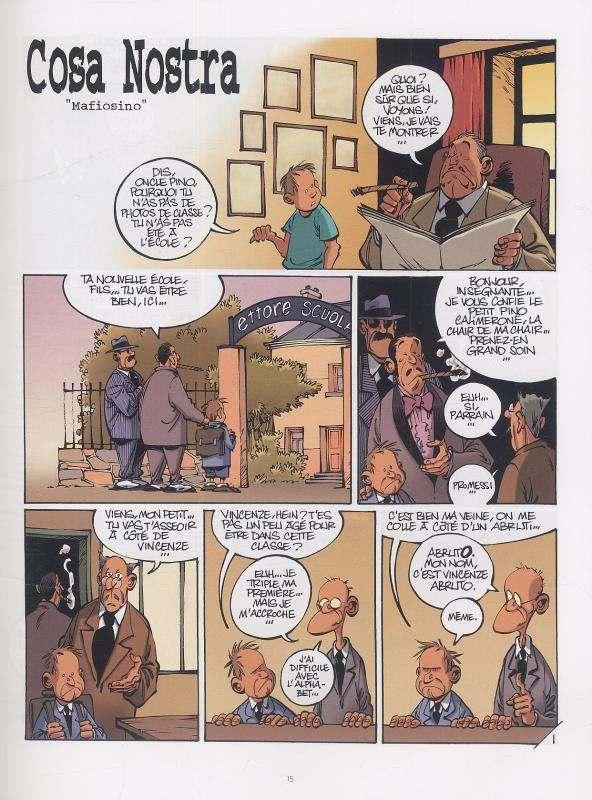 Cosa Nostra T2 : La mano nera (0), bd chez Le Lombard de Clarke, Cerise
