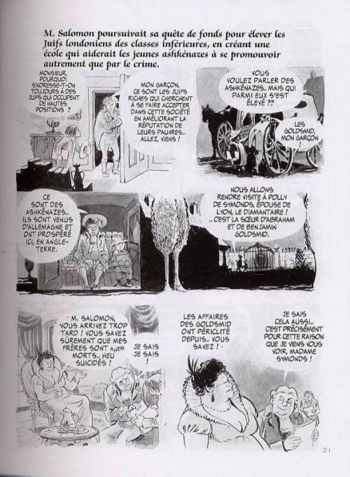 Fagin le juif, comics chez Delcourt de Eisner