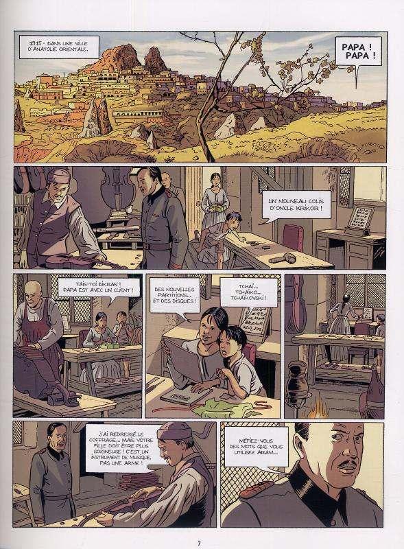 Le cahier à fleurs T1 : Mauvaise orchestration (0), bd chez Bamboo de Galandon, Nicaise, Maffre, Hirn