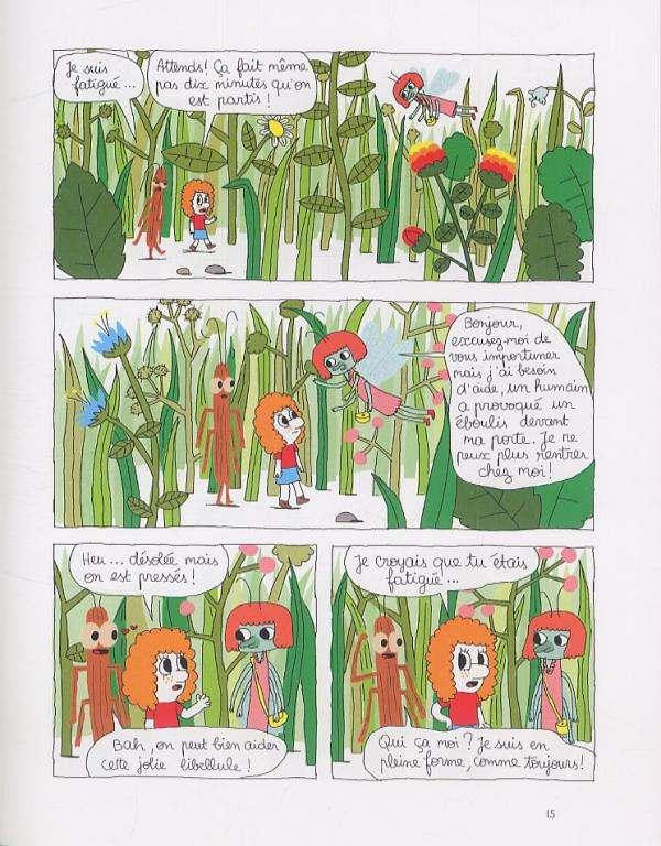 Patti T1 : Patti et les fourmis (0), bd chez Gallimard de Ricard