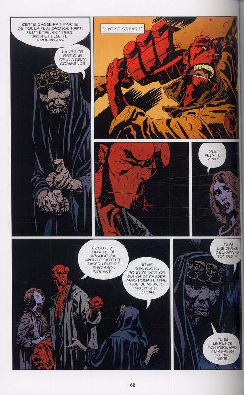 Hellboy T10 : La Grande battue (0), comics chez Delcourt de Mignola, Fegredo, Stewart