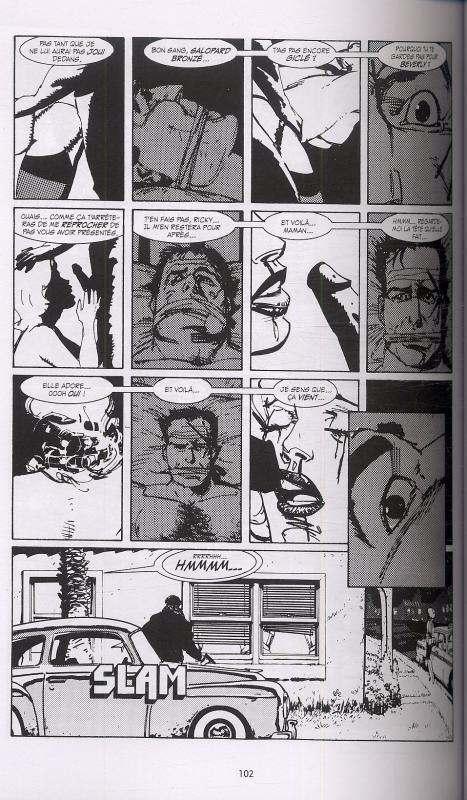 Black Kiss, comics chez Delcourt de Chaykin