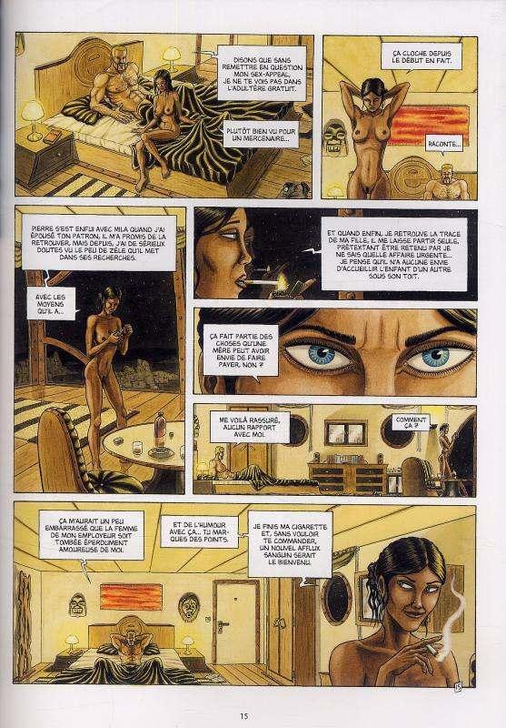 Caravane T2 : La loi des monstres (0), bd chez Delcourt de Milhiet