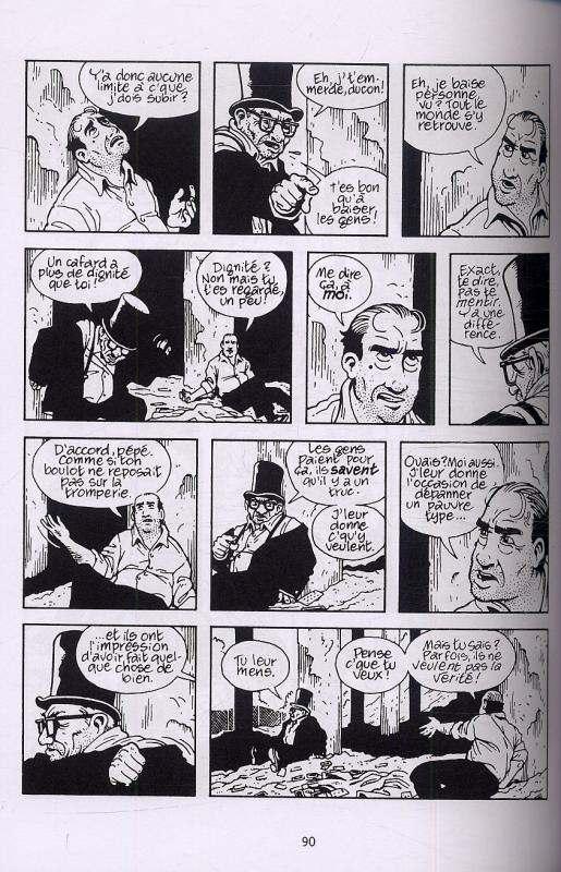 Double fond, comics chez Delcourt de Lutes