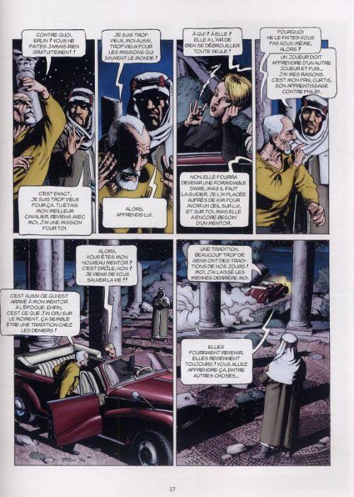 L'histoire secrète T18 : La fin de Camelot (0), bd chez Delcourt de Pécau, Kordey, O'Grady