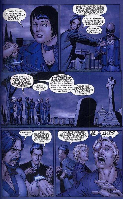 Irrécupérable T1 : Sans retour (0), comics chez Delcourt de Waid, Krause, Dalhouse