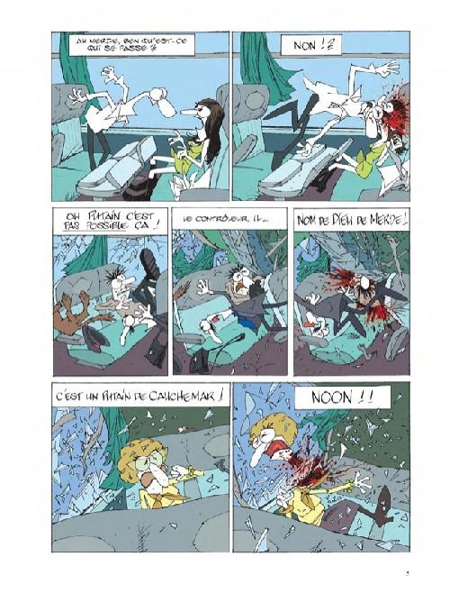 Fables de la poubelle T2, bd chez Dargaud de Collectif, Krassinsky, Schwendimann