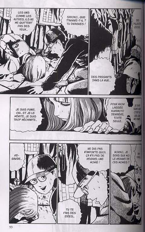 Les fruits sanglants, manga chez Tonkam de Ito