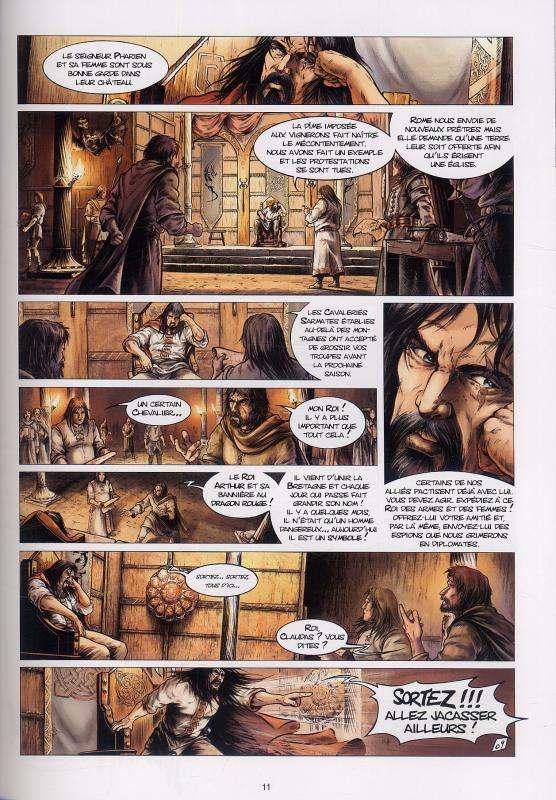 Lancelot T2 : Iweret (0), bd chez Soleil de Peru, Istin, Alexe, Jacquemoire