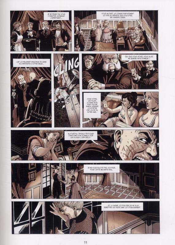 Mister Hyde contre Frankenstein T1 : La Dernière Nuit de Dieu (0), bd chez Soleil de Dobbs, Marinetti, Blancher