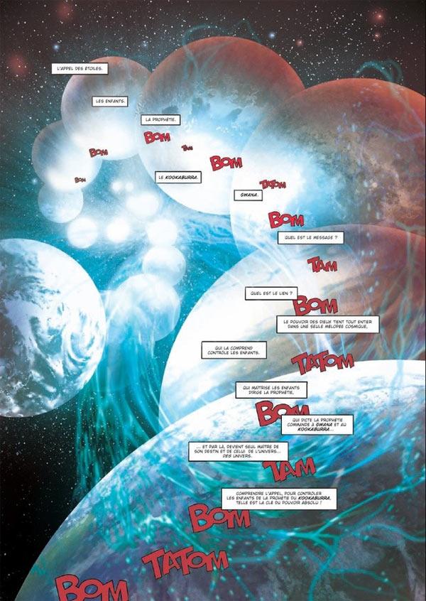 Kookaburra universe T13 : L'Appel des étoiles (0), bd chez Soleil de Louis, Boudoiron, Lamirand