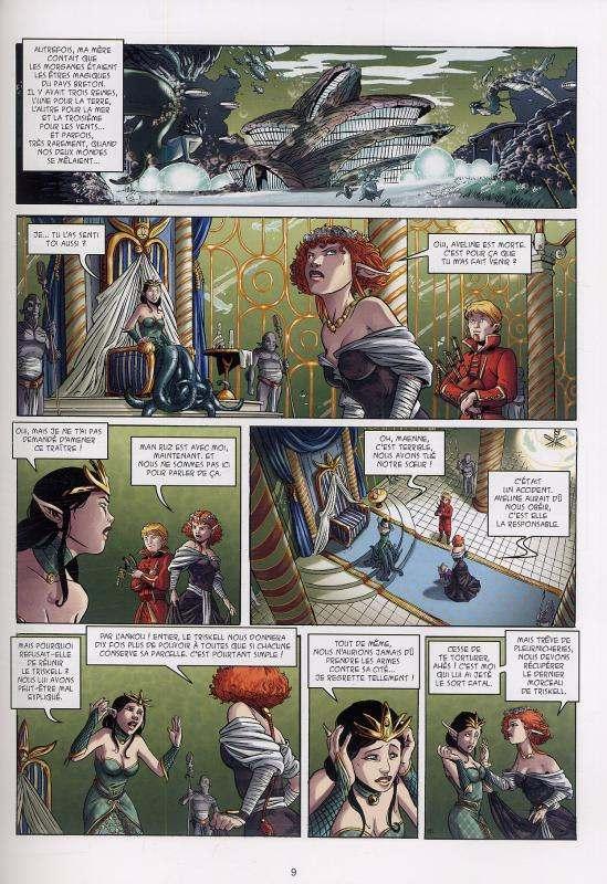 Triskell T1 : La Marque de l'Entre-Monde (0), bd chez Soleil de Alwett, Torregrossa, Blancher