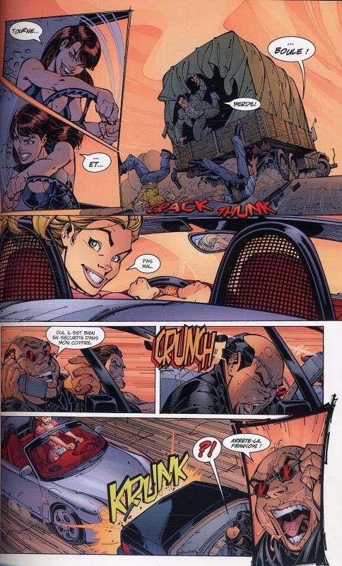 Danger girl T1, comics chez Soleil de Hartnell, Campbell, Ponsor, Jimenez, Baron, Chiodo, Major, Dimagmaliw, Garner