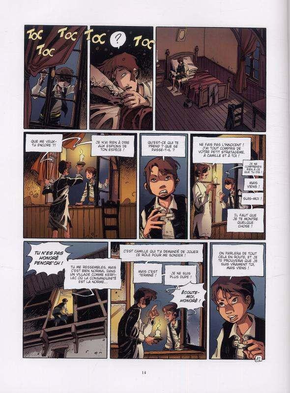 L'ecole Capucine T2 : L'héritier (0), bd chez Vents d'Ouest de Djian, Vincent