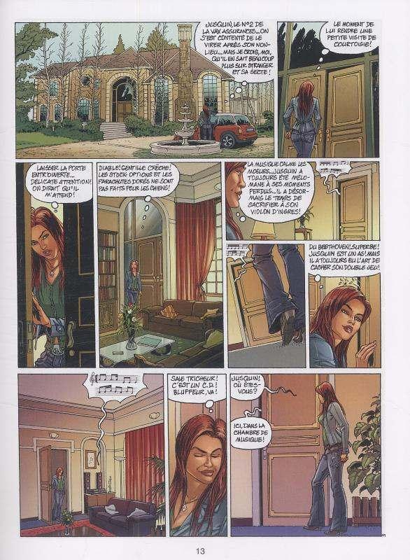 Vanity T2 : La symphonie infernale (0), bd chez Joker de Duchateau, Kash, Quemener