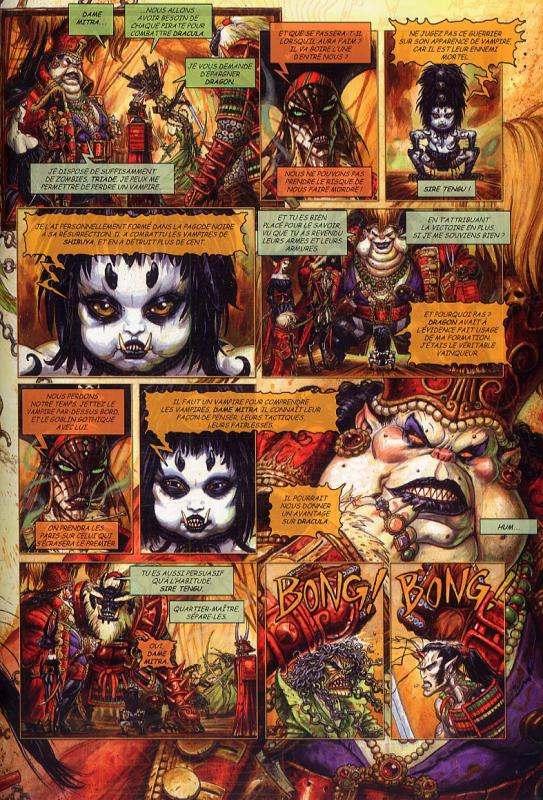 Requiem - chevalier vampire T9 : La cité des pirates (0), bd chez Nickel de Mills, Ledroit