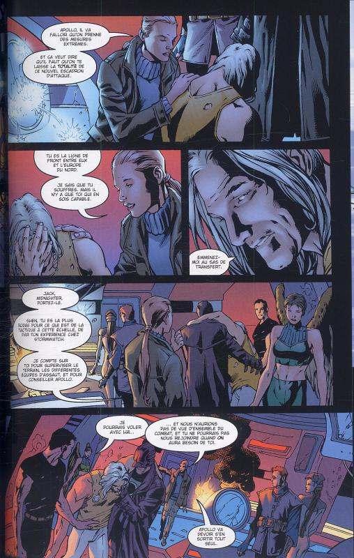 The Authority (ancienne édition) – cycle 1, T1, comics chez Panini Comics de Ellis, Hitch, Martin