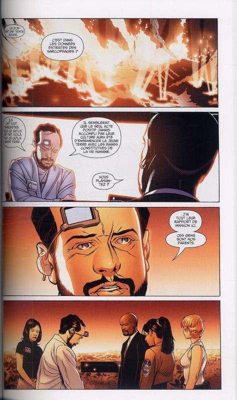 Océan, comics chez Panini Comics de Ellis, Sprouse, Mayor, Aviña, Broome, Golden