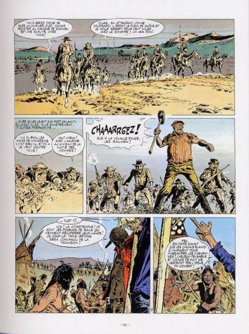 Comanche T1, bd chez Le Lombard de Greg, Hermann