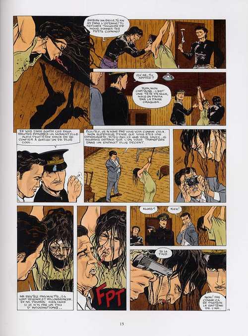 Destins Croisés T1 : Le Poids du Silence (0), bd chez Glénat de Boutel, Mattera, Robert