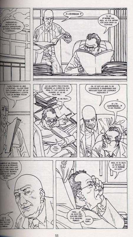 Corps de pierre, comics chez Delcourt de Casey, Adlard