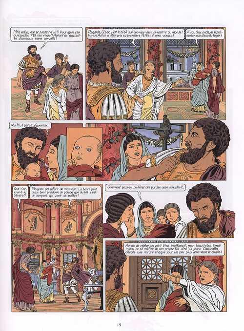 La dernière prophétie T3 : Sous le signe de Ba'al (0), bd chez Glénat de Chaillet, Defachelle