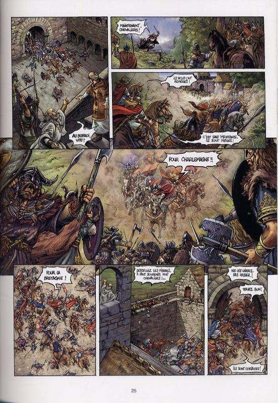 Durandal T1 : Les Marches de Bretagne (0), bd chez Soleil de Jarry, Lemercier, Digikore studio
