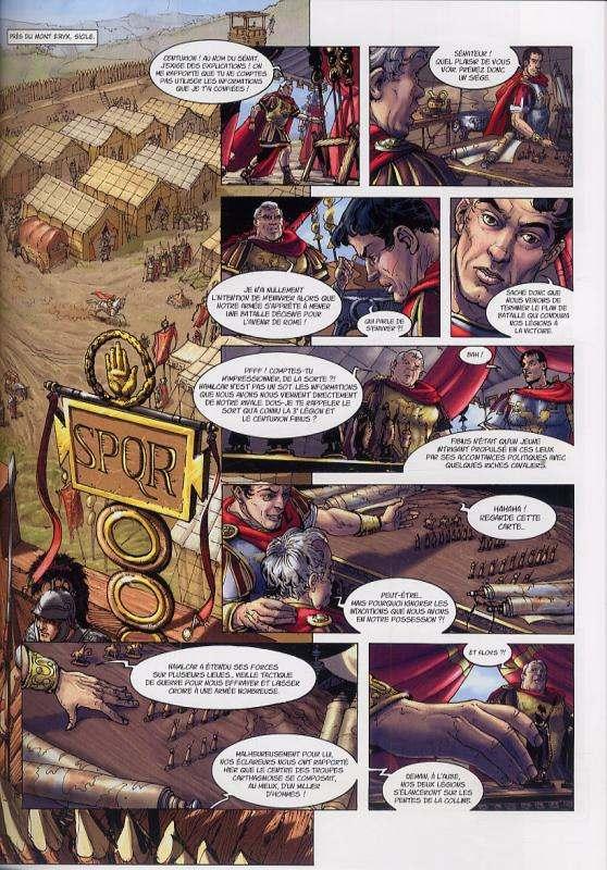 Carthage T1 : Le souffle de Baal (0), bd chez Soleil de Lassablière, David, de Luca, Lubière