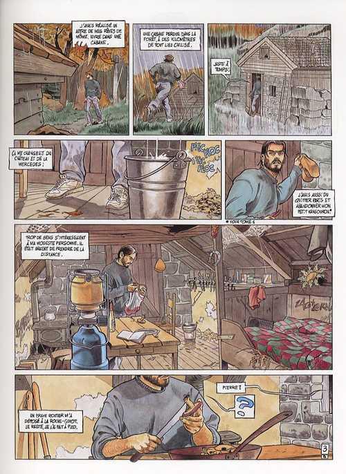 La maison dieu T2 : La voix intérieure (0), bd chez Albin Michel de Rodolphe, Berr