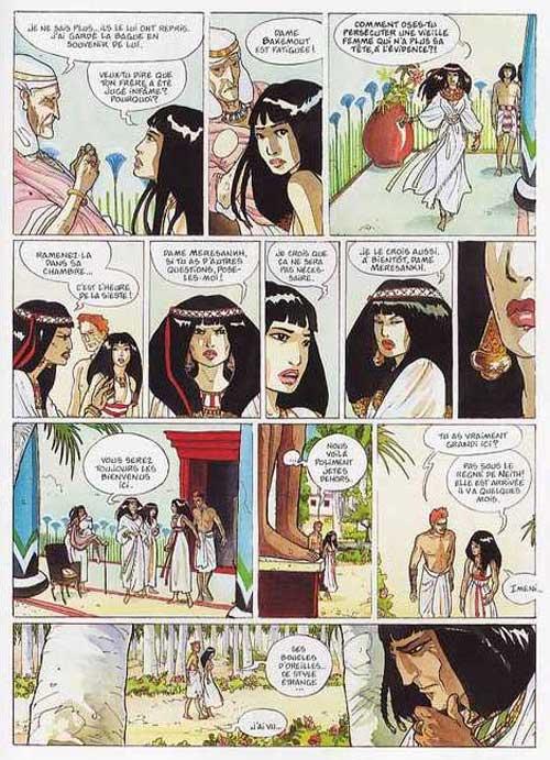 Sur les terres d'Horus T1 : Khaemouaset ou la Loi de Maat (0), bd chez Delcourt de Dethan