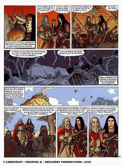 Arthur T5 : Drystan et Esyllt (0), bd chez Delcourt de Chauvel, Lereculey, Simon
