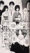 Lily la menteuse T1, manga chez Delcourt de Komura
