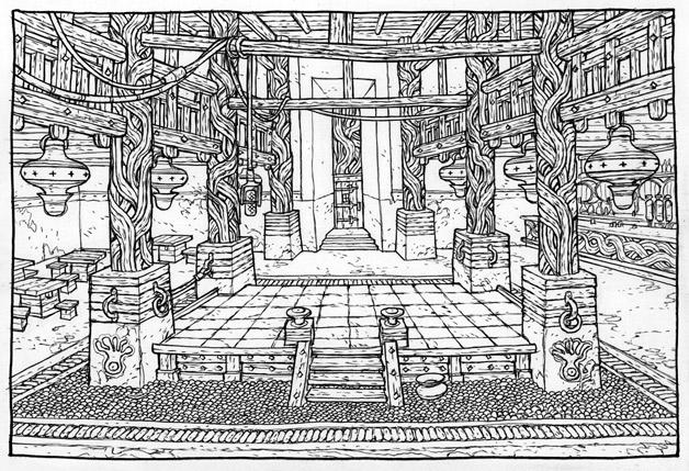 Taverne du Kraken fou – Copyright Floch/Guth, éditions Soleil