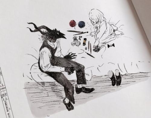Nagabe L'enfant et le maudit illustration