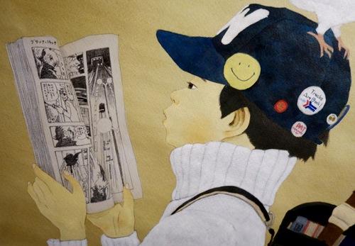 Peinture affiche expo