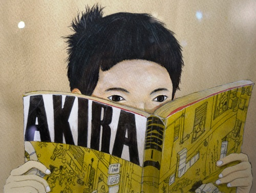 Taiyô Matsumoto illustration lecteur Akira
