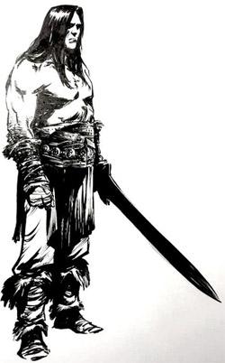 Conan, dessin inédit