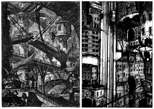 Piranesi VS Nihei