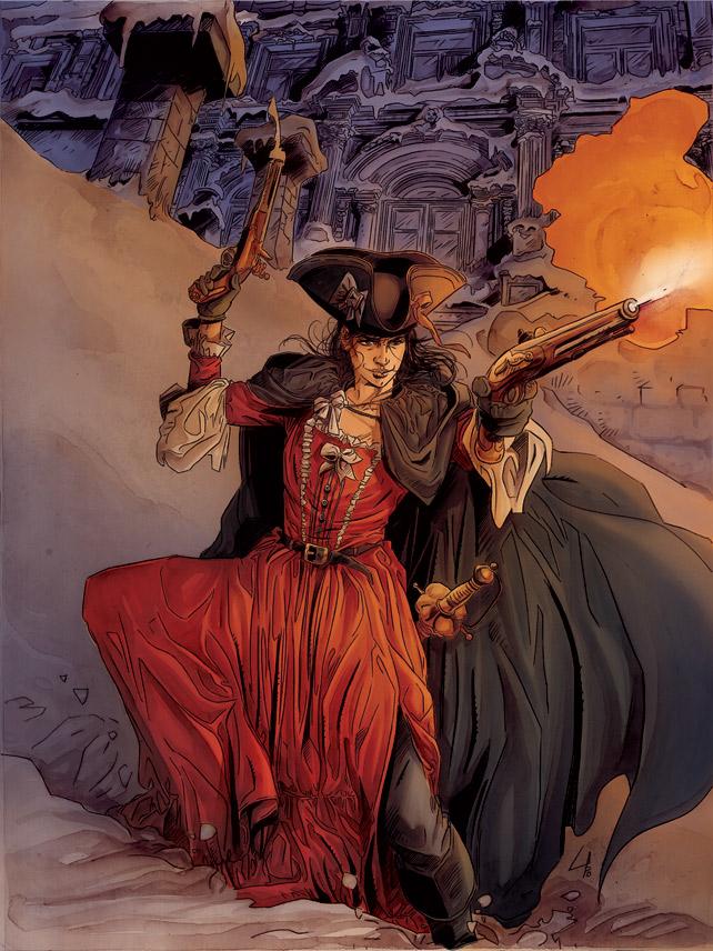 Le chevalier d'Eon T2 (couverture) - Copyright Glénat Mogavino / Lapo