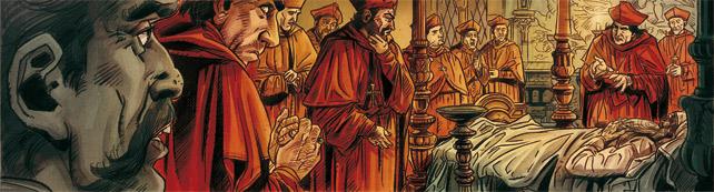 Alexandre VI – Le pouvoir des Borgia - Copyright Glénat Mogavino / Lapo