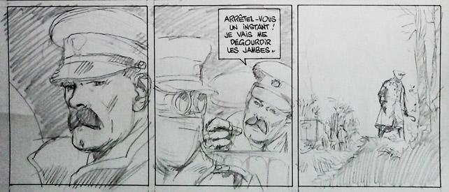 La ballade du soldat Odawaa – Copyright Casterman, Rossi, Apikian