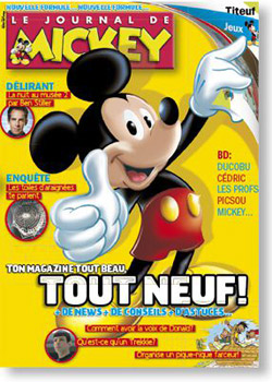 Copyright Le journal de Mickey