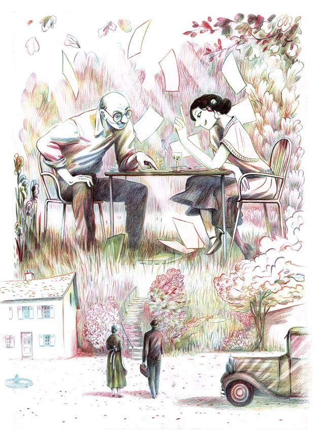 Copyright Casterman – Léonie Bischoff – Anaïs Nin