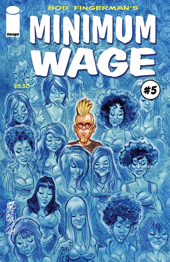 Bob Fingerman minimum wage 2014 image comics