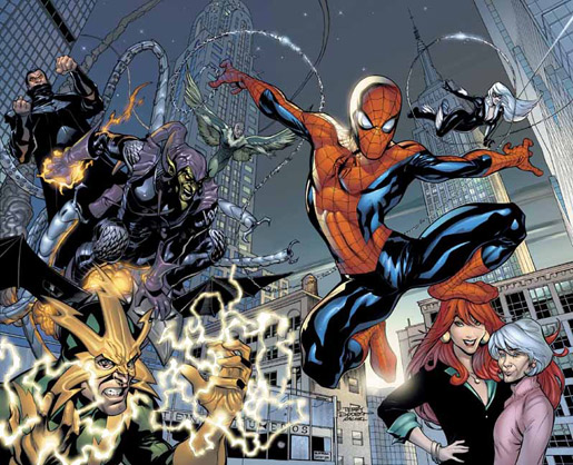 © Terry Dodson – Spiderman