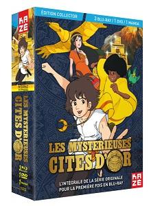 Coffret Blu-ray / DVD de la première série