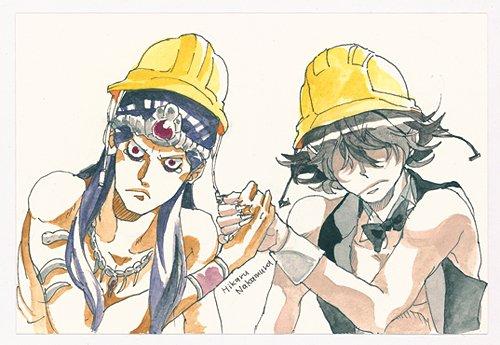 Mara et Lucifer - Une des illustrations vendues aux enchères par l'auteur pour récolter des fonds destinés à aider les sinistrés après le séisme de 2011