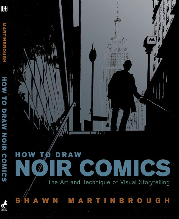 how to draw noir comics shawn martinbrough