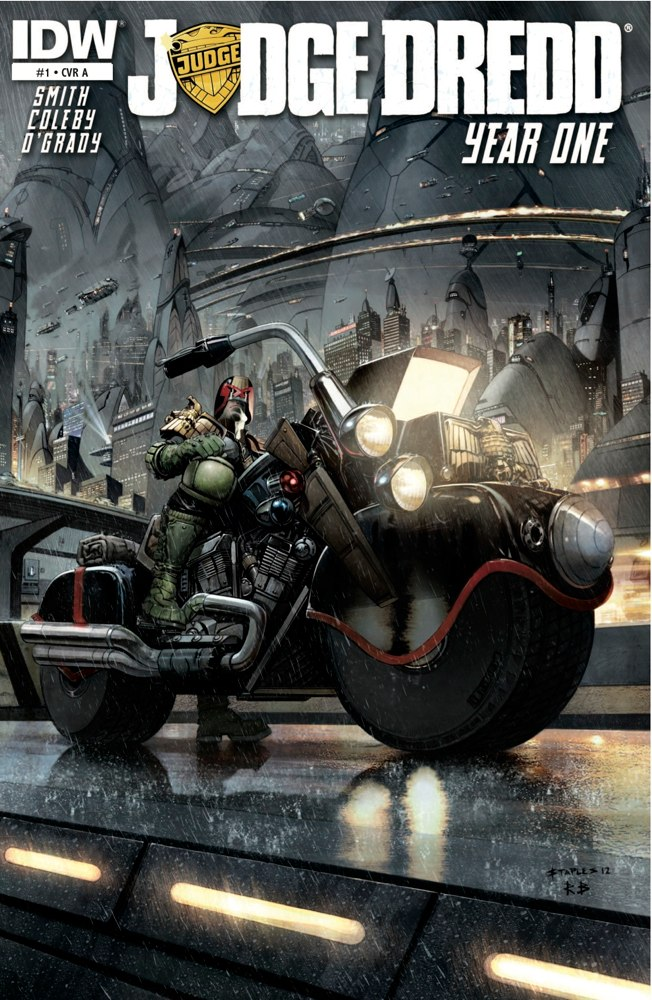 Simon Coleby Judge Dredd